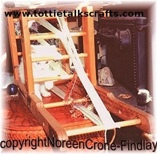 Inkle Loom Dimensions | Tottie Talks Crafts Blog