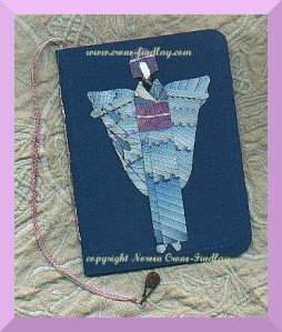 handmade-book-origami-angel-5