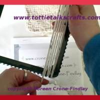 New video tutorial- how to weave with yarn on potholder loom