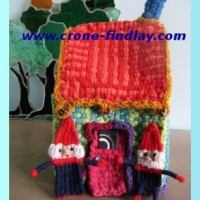 Woven Gnomes and their house