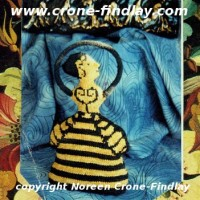 Minoan Goddess of the Bees Knitted pattern is now a pdf