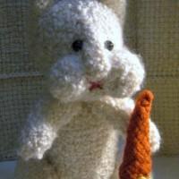 Woven Bunny free pattern