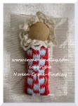 Darling little dolls to make with Inkle woven bands