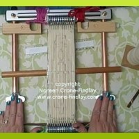 Soumak Pouch Weave Along - Part 3 - Warping the Looms