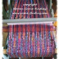What's on my loom April 2013