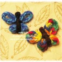 A Butterfly to make on the Lucet