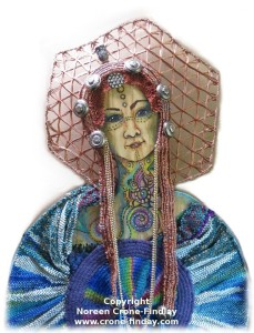 Woven Woman (Essence) by Noreen Crone-Findlay (c)