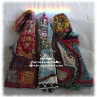 Woven Women: 6th Sense One of a Kind Art Dolls