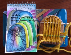 #inktober -Day 4 - Owl