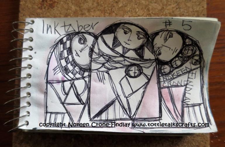 #inktober day 5 Noreen Crone-Findlay (c)