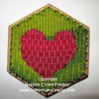 Hexagon Loom Weaving- Tapestry