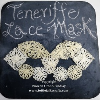 Teneriffe Lace Weave Along- Teneriffe Lace Mask