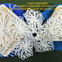 Teneriffe Lace- Pin Cushion How To