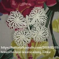 Teneriffe Lace Weave Along Butterfly Two