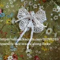 Teneriffe Lace Fairy