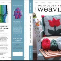Potholder Loom Weaving book- preview- Wall Hangings