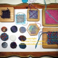 How to Make Woven Brooches with Upcycled Bases