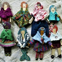How to Make Simple Doll Clothes from Woven Triangles