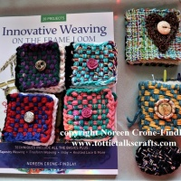 Woven Needle Books instead of Pin Cushions